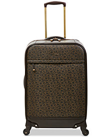 "Calvin Klein Mulberry 24"" Softside Spinner Suitcase"