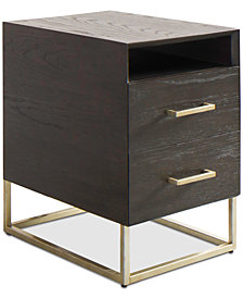 CLOSEOUT! Odyssey Storage End Table w/ USB Power Outlet