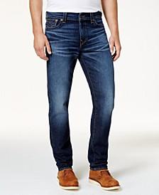 Men's Blue Slim Fit Stretch Jeans