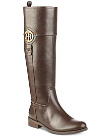 Tommy Hilfiger Ilia Riding Boots, Created for Macy's