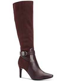 Calvin Klein Jemamine Tall Dress Boots Created for Macy's