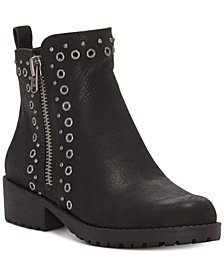 Lucky Brand Hannie Grommet-Studded Booties