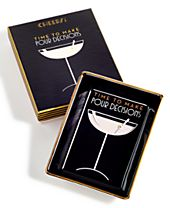 Rosanna Time to Make Pour Decisions Porcelain Tray