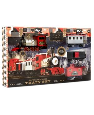 Fao Schwarz Motorized Train Set