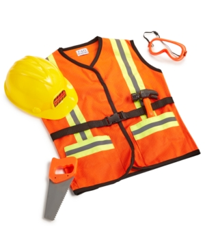 Fao Schwarz Childrens Construction Worker Costume