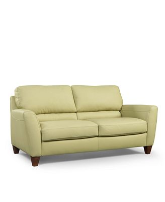 Almafi Leather Sofa - Furniture - Macy'S