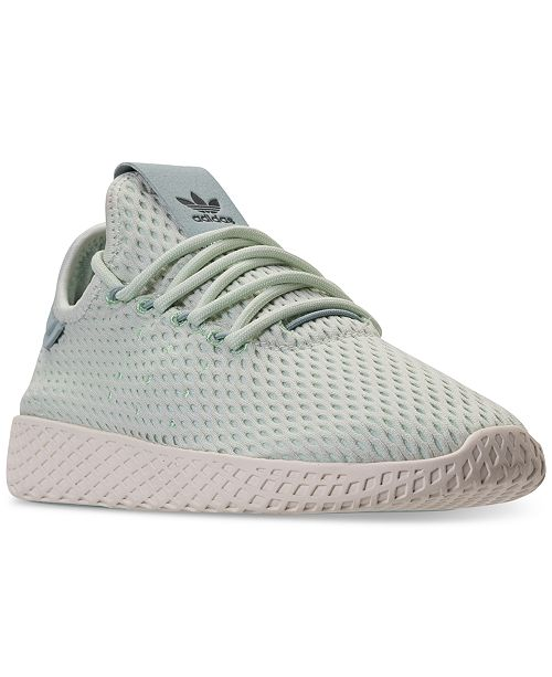 460022f10af29 ... adidas Big Boys  Originals Pharrell Williams Tennis HU Casual Sneakers  from Finish Line ...