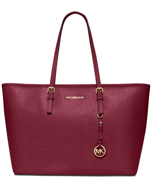 70cc19e6ecd5 Michael Kors Jet Set Travel Top Zip Multifunction Tote & Reviews ...