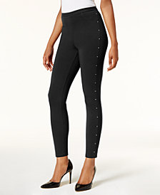 Style & Co Embellished Leggings, Created for Macy's