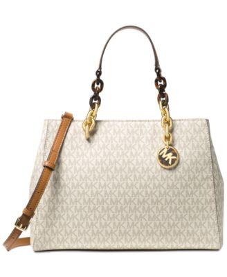 5dc3afb9f7709 Michael kors signature cynthia medium satchel handbags tif 500x613 Cynthia  michael