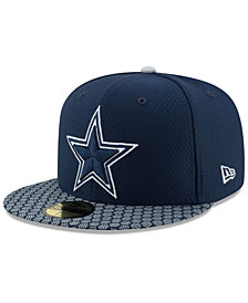 New Era Boys' Dallas Cowboys Sideline 59FIFTY Fitted Cap