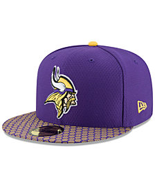 New Era Boys' Minnesota Vikings Sideline 59FIFTY Fitted Cap