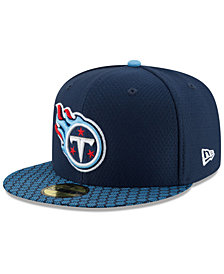 New Era Boys' Tennessee Titans Sideline 59FIFTY Fitted Cap