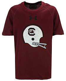 Under Armour South Carolina Gamecocks Helmet Tech T-Shirt, Big Boys (8-20)