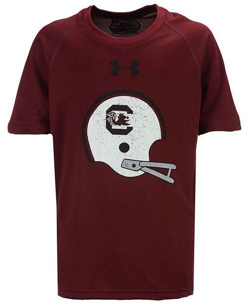 Under Armour South Carolina Gamecocks Helmet Tech T-Shirt, Big Boys (8-20)