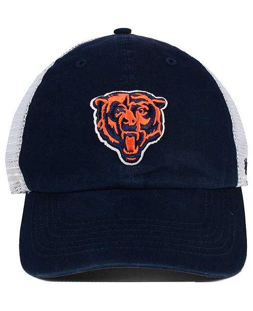 huge selection of f8145 0f538 usa 47 brand chicago bears deep ball mesh closer cap sports fan shop by  lids men