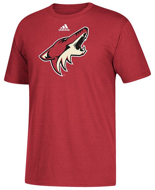 adidas Men's Arizona Coyotes Primary Go To T-Shirt