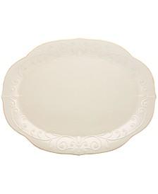 Dinnerware, French Perle Oval Platter