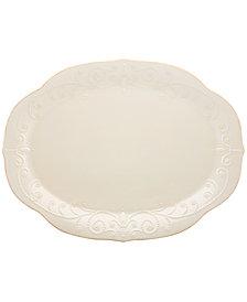 Lenox Dinnerware, French Perle Oval Platter
