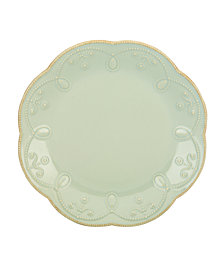 Lenox Dinnerware, French Perle Ice Blue Accent Plate