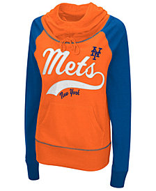 G-III Sports Women's New York Mets Charge The Mound Hooded Sweatshirt