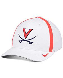 Nike Virginia Cavaliers Aerobill Classic Sideline Swoosh Flex Cap