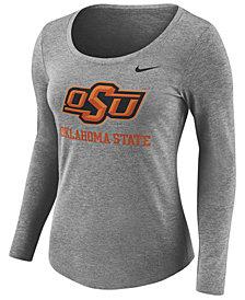 Nike Women's Oklahoma State Cowboys Tri Blend Logo T-Shirt