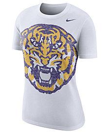 Nike Women's LSU Tigers Triblend Logo Boyfriend T-Shirt