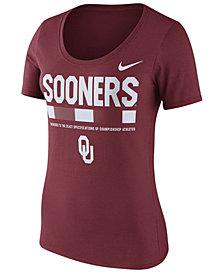 Nike Women's Oklahoma Sooners Sideline Scoop T-Shirt