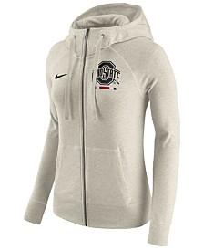 Nike Women's Ohio State Buckeyes Gym Vintage Full-Zip Hoodie