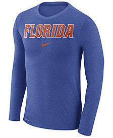 Nike Men's Florida Gators Marled Long Sleeve T-Shirt