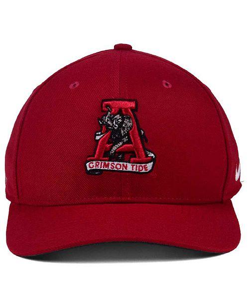 release date 28a23 cfd8d Nike Alabama Crimson Tide Vault Swoosh Flex Cap - Sports Fan Shop By Lids -  Men - Macy s