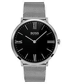 BOSS Hugo Boss Men's Jackson Stainless Steel Mesh Bracelet Watch 40mm