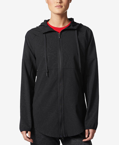 adidas Sport2Street Hooded Windbreaker - Jackets - Women - Macy's