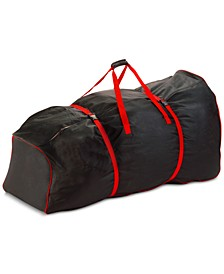Black Rolling Storage Bag For Artificial Trees Up To 9' Tall