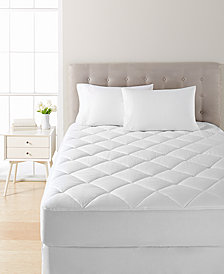 Dream Science Waterproof Full Mattress Pad by Martha Stewart Collection, Created for Macy's