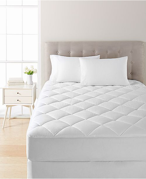 Martha Stewart Collection Waterproof California King Mattress Pad by Martha Stewart Collection, Created for Macy's
