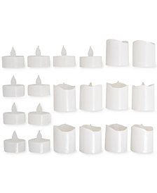 Studio Mercantile 20-Pc. Flameless LED Tealight Candles Set, Created for Macy's