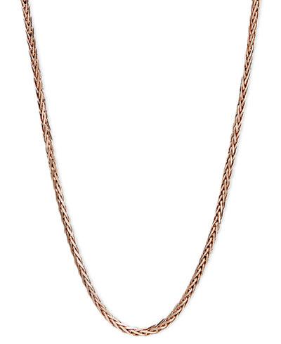 14k Rose Gold Necklace, 20