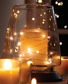 studio mercantile led silver 10ft string lights