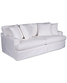 "Brenalee 93"" Performance Fabric Slipcover Sofa"