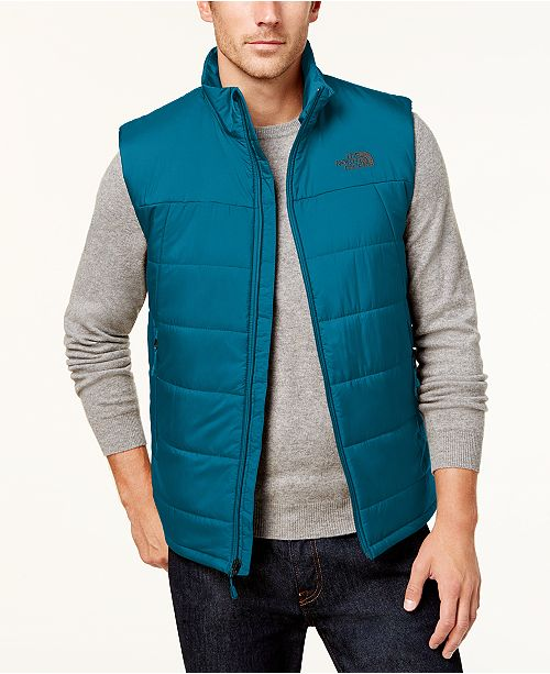 d3b7cff7455a The North Face Men s Insulated Bombay Vest   Reviews - Coats ...