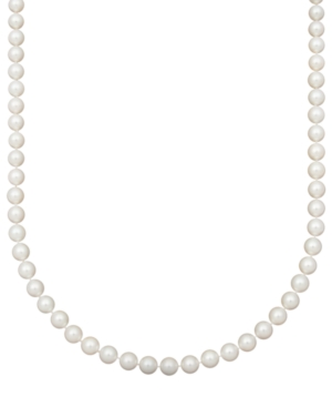"""Belle de Mer Pearl Necklace, 18"""" 14k Gold Aa Akoya Cultured Pearl Strand (8-8-1/2mm)"""
