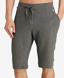 Polo Ralph Lauren Men's Waffle-Knit Thermal Pajama Shorts
