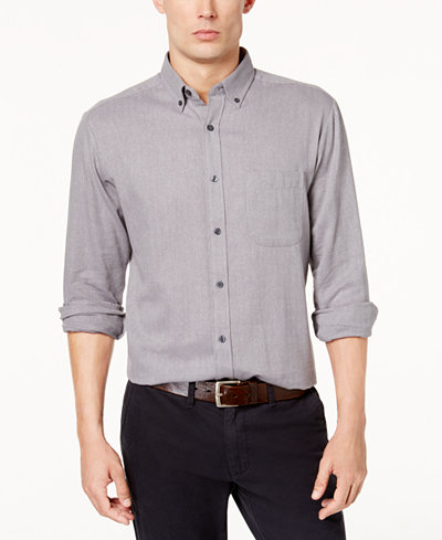 Club Room Men's Buffalo Flannel Shirt, Created for Macy's