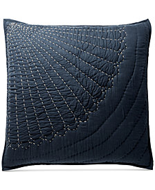 CLOSEOUT! Lucky Brand Sashiko European Sham, Created for Macy's
