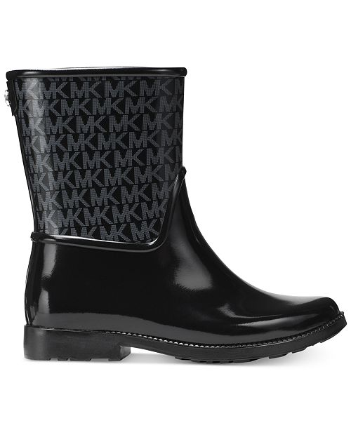 grossistpris ganska cool låg kostnad Michael Kors Sutter Rain Boots & Reviews - Boots - Shoes - Macy's