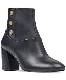 Nine West Kirtley Block-Heel Booties
