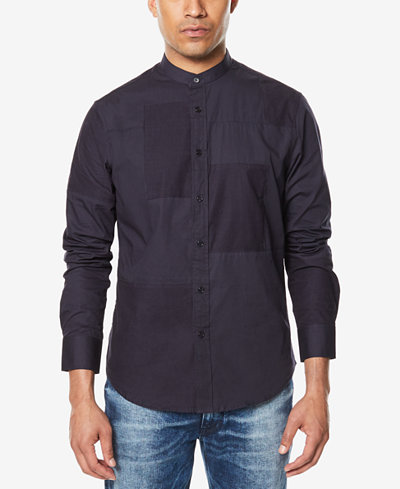Sean John Men's Patchwork Shirt, Created for Macy's