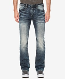 Buffalo David Bitton Men's Six-X Straight Fit Stretch Jeans